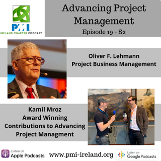 Welcome to the Ireland Chapter of the PMI Podcast - Episode 19