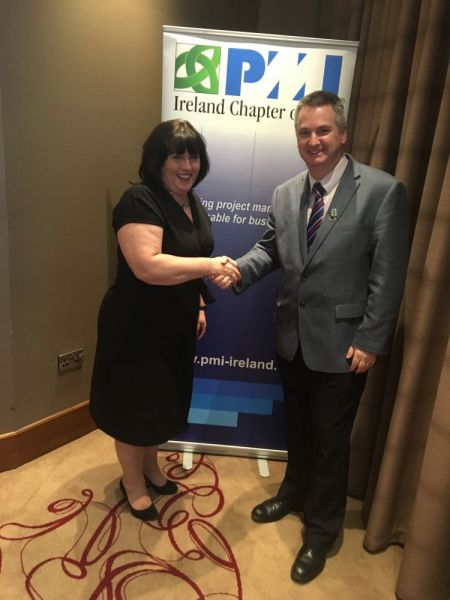 Newly-appointed-President-of-the-Ireland-Chapter-of-Project-Management-Institute-Pat-Lucey-r-with-Vice-President-Jackie-Glynn