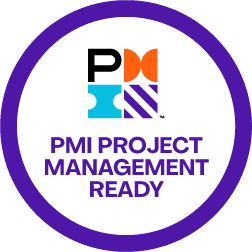 project management ready badge
